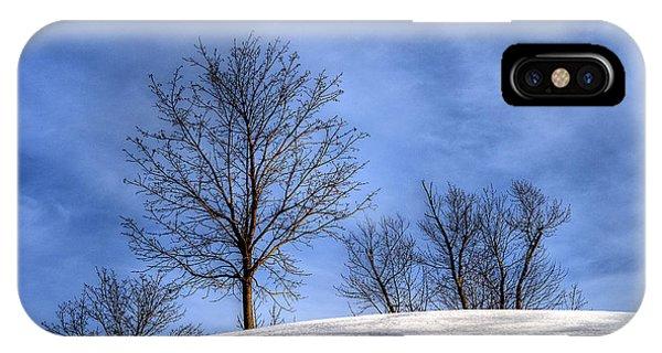 Winter Skyline IPhone Case