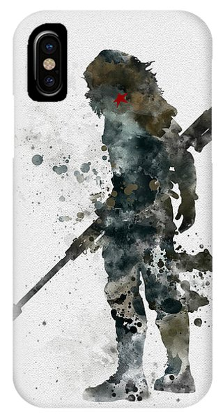 Winter iPhone Case - Winter Soldier by My Inspiration