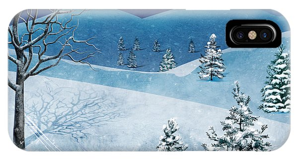 Freeze iPhone Case - Winter Solstice by Peter Awax