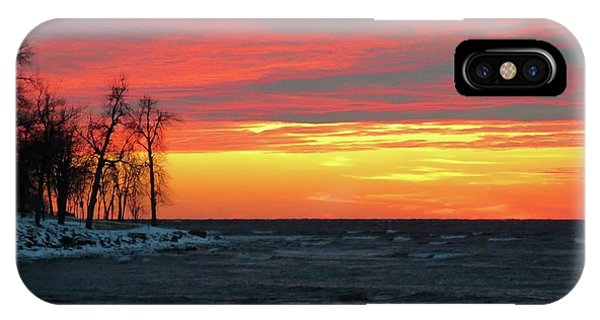 Winter Solstice Eve IPhone Case