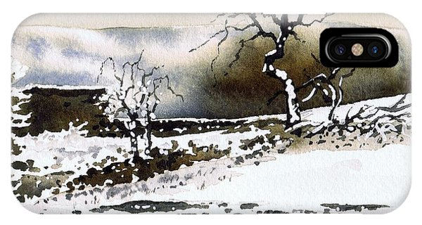 iPhone Case - Winter Stainland by Paul Dene Marlor