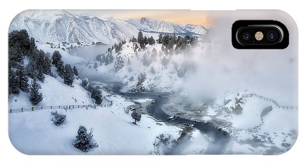 Winter Steam  IPhone Case