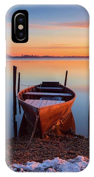 Winter Sunbathing IPhone Case