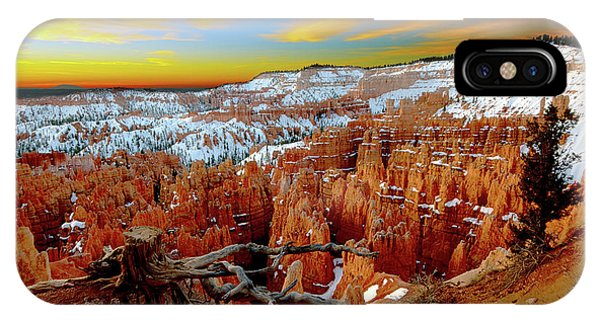 Winter Sunrise At Bryce IPhone Case