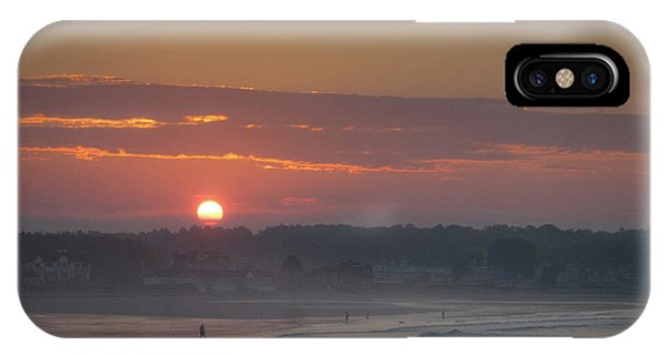 Winter Sunrise - Kennebunk IPhone Case