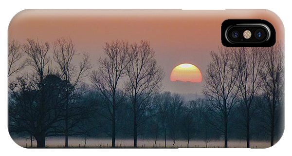 Winter Sunset 1 IPhone Case
