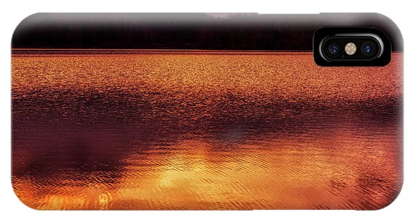 iPhone Case - Winter Sunset Afterglow Reflection by Thomas R Fletcher