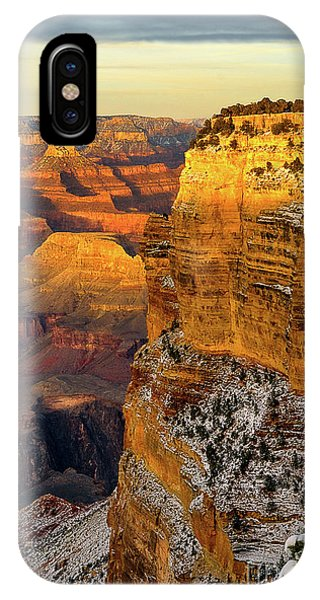 Winter Sunset At The Grand Canyon IPhone Case