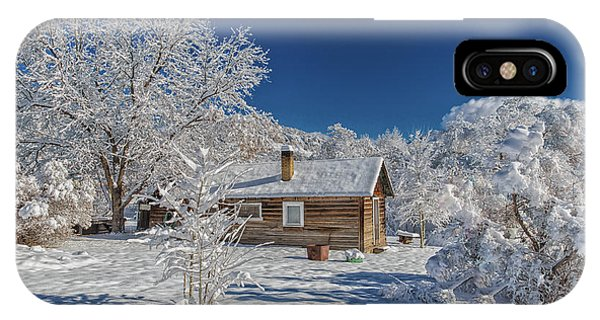 Winter Time Retreat IPhone Case