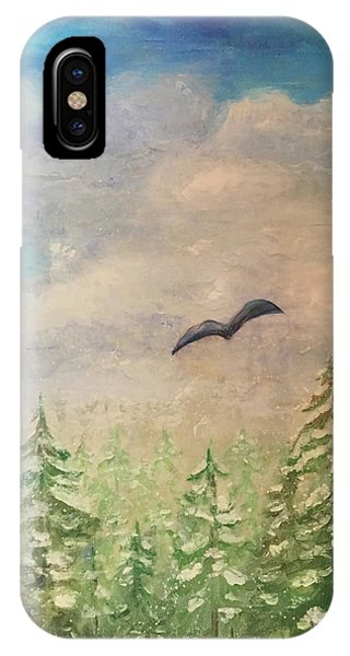 Winter To Spring IPhone Case