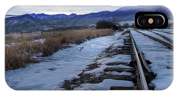 Winter Tracks IPhone Case