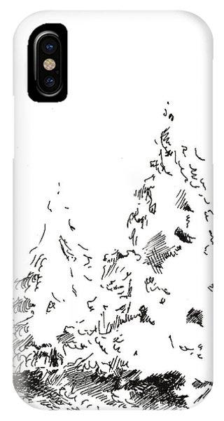 Winter Trees 1 - 2016 IPhone Case