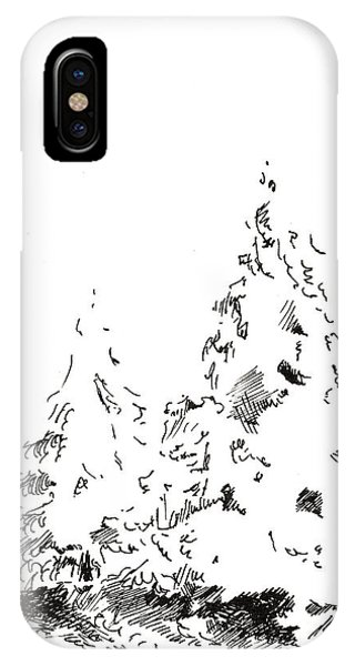 Winter Trees 1 - 2016 IPhone Case