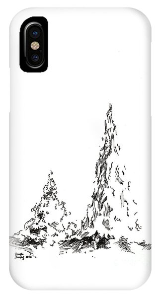 Winter Trees 2 - 2016 IPhone Case