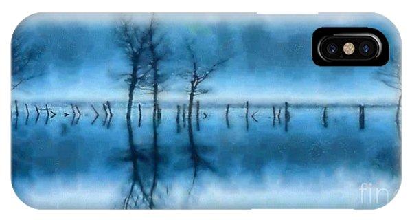 Winter Trees IPhone Case