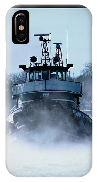 Winter Tug IPhone Case