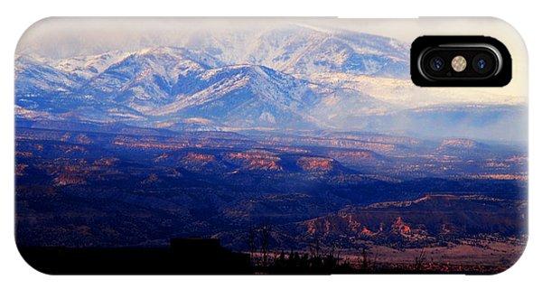 Winter Vista IPhone Case