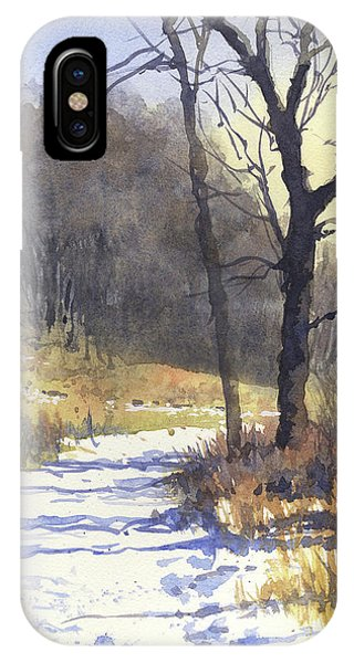 Winter Walk IPhone Case