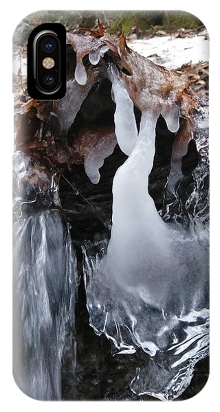 Winter Water Flow 5 IPhone Case
