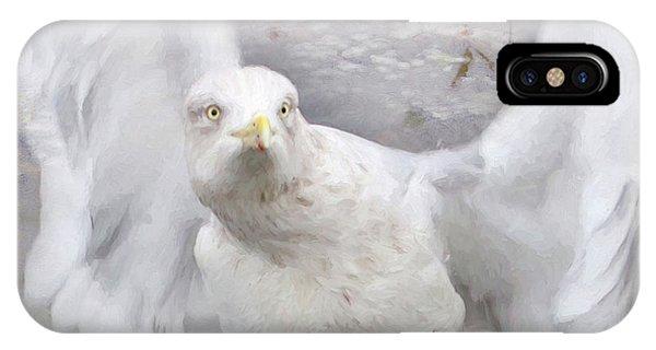 Winter Wings IPhone Case