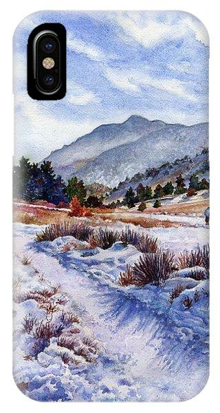 Rocky Mountain iPhone Case - Winter Wonderland by Anne Gifford