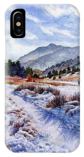 Rocky iPhone Case - Winter Wonderland by Anne Gifford