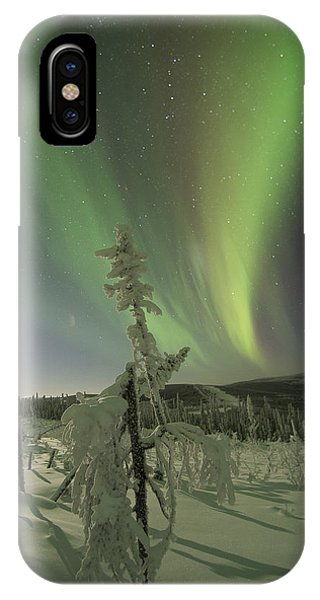 Winter Wonderland Aurora IPhone Case
