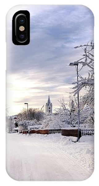 Winter Wonderland Redux IPhone Case