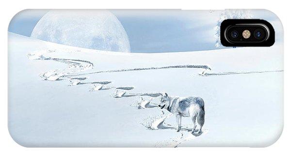Winter Wonderland - Wolf IPhone Case