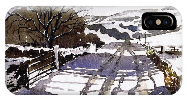 iPhone Case - Winters Lane Stainland by Paul Dene Marlor
