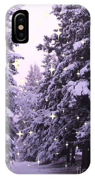 winter's Path IPhone Case