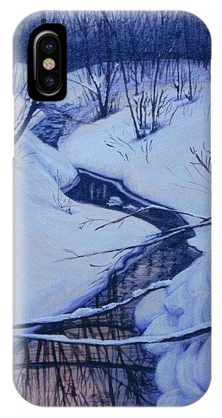 Winter's Stream IPhone Case