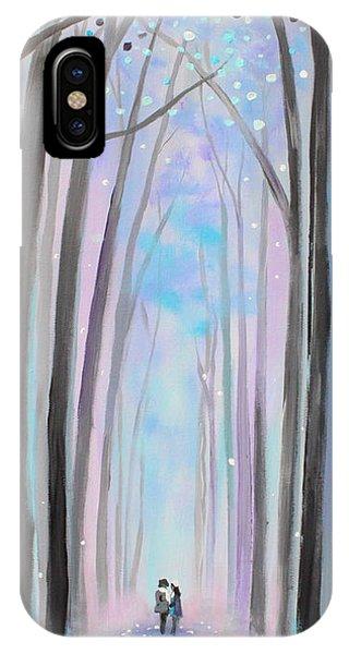 Winter's Walk IPhone Case
