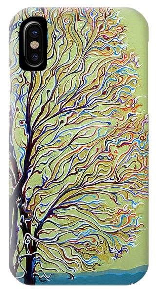 Wintertainment Tree IPhone Case