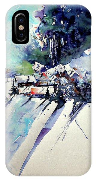 Wintertime- Perfect Gift Idea IPhone Case
