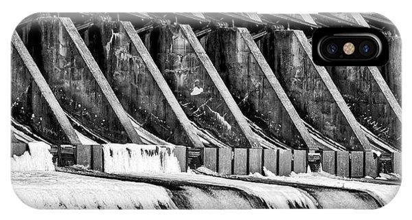 Wisconsin River Dam IPhone Case
