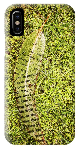 Poetry iPhone Case - Wisdom In Nature by Jorgo Photography - Wall Art Gallery