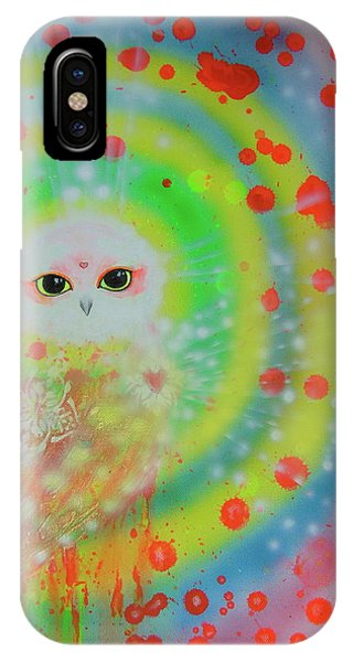 Wisdom Of  The Owl  IPhone Case