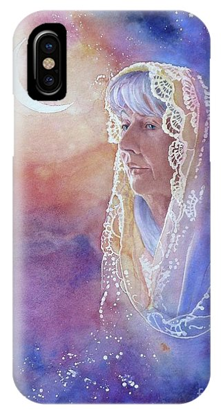 Wisdom Of The Waning Moon IPhone Case