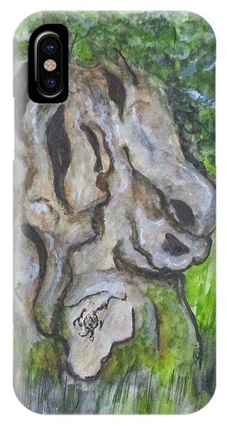 Wisdom Olive Tree IPhone Case