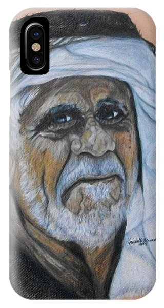 Wisdom Portrait IPhone Case
