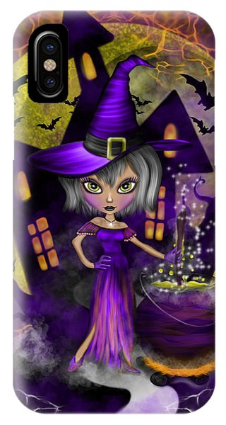 Wisdom Witch Fantasy Art IPhone Case