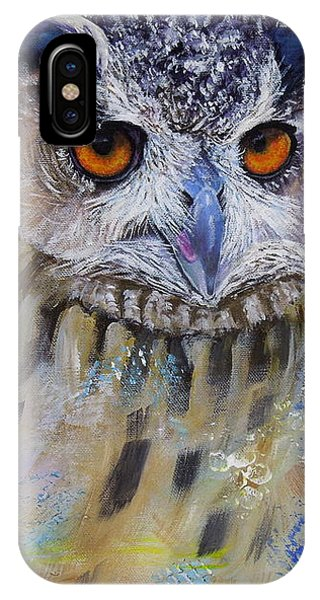 Wise Owl IPhone Case