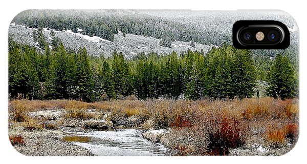 Wise River Montana IPhone Case