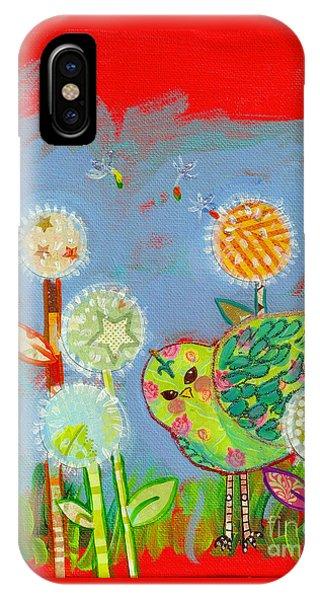 Wishful Thinking Birdy IPhone Case