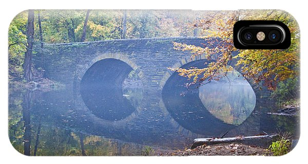 Bell iPhone Case - Wissahickon Creek At Bells Mill Rd. by Bill Cannon