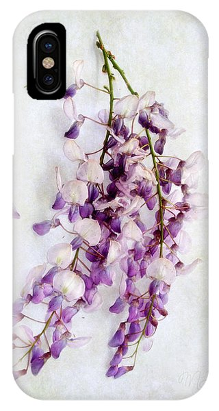 Wisteria Still Life IPhone Case