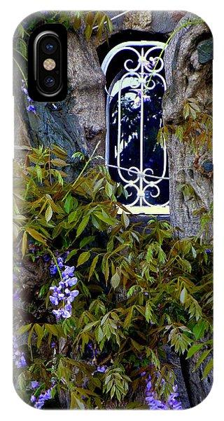 Wisteria Window IPhone Case