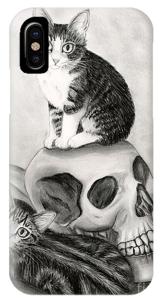 Witch's Kittens IPhone Case
