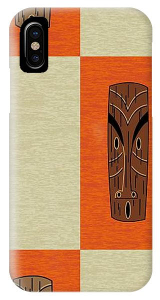 Witco Tikis 1 IPhone Case